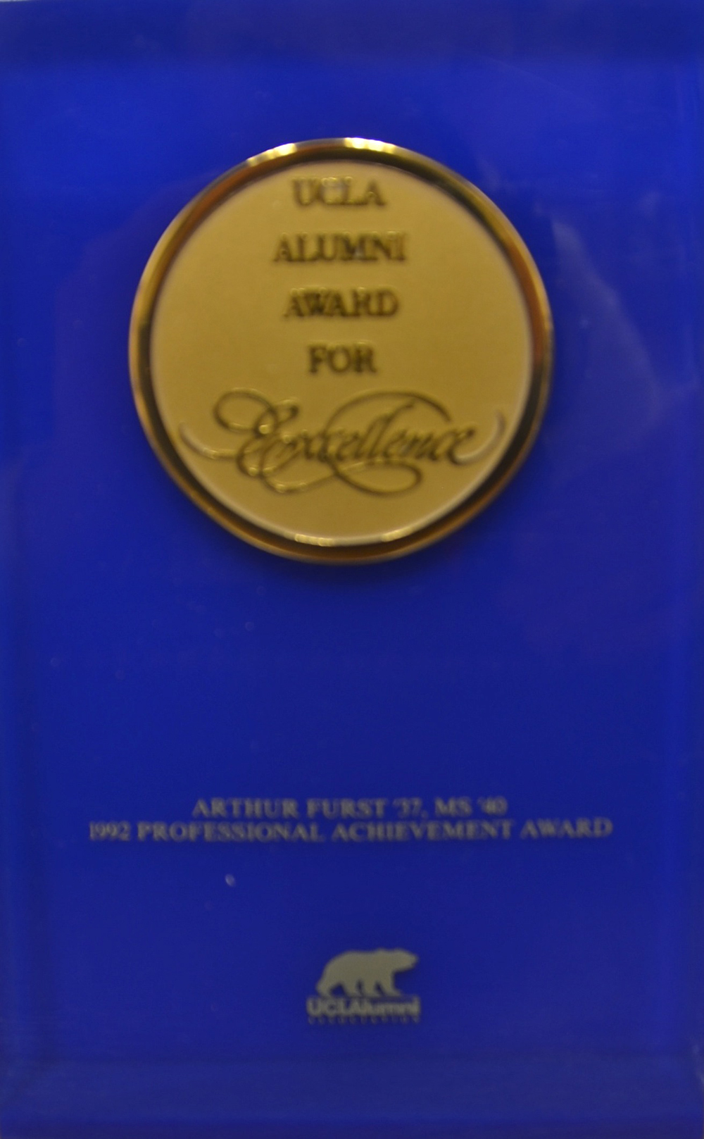 accomplishments achievements and awards 1992 ucla alumni award for excellence professional achievement award